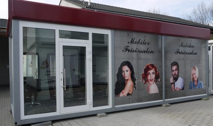 Friseur-Verkaufsmodul